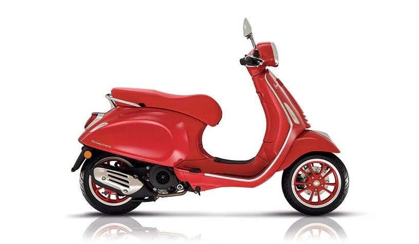 Vespa Primavera 3v 125 Red Abs E5 2021