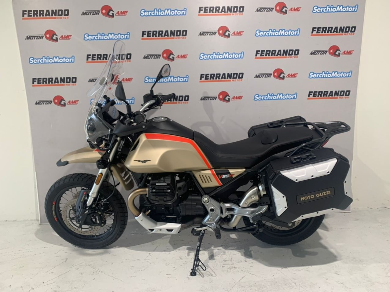 Moto Guzzi V85 TT Travel edition - Soli 1200 km!